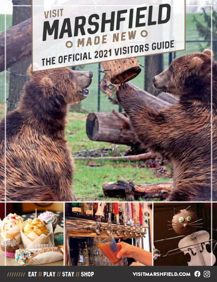 2021 Visitor Guide cover